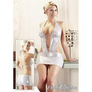 Dit sexy jurkje is een nauw aansluitend modelletje. Het zit strak om je lichaam waardoor al je mooie rondingen goed zichtbaar zijn. Door de fijne en rekbare stof voelt het haast alsof je niets aan hebt !