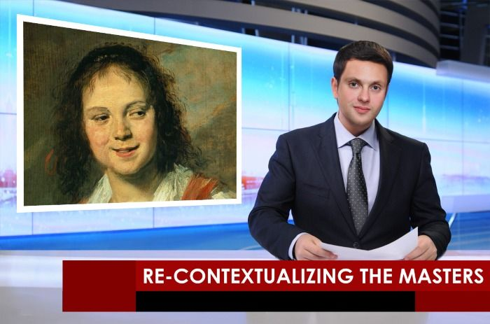Re-Contextualizing the Masters: An Essay in Photofunia Collages