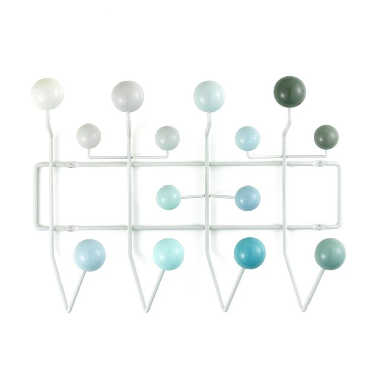 Hang It All Coat Rack by Charles & Ray Eames The Vitra Hang It All Coat Rack:  designed to liven up the traditional coat racks. The range of racks can be used to hold anything from bags and coats, to caps and capes.