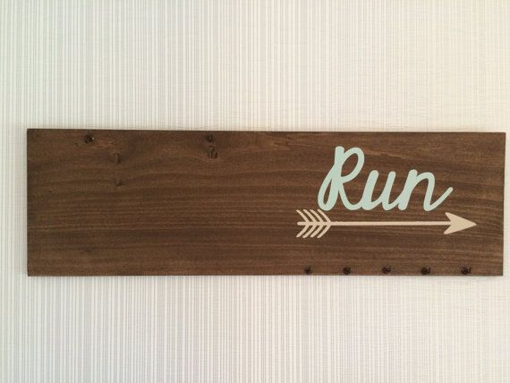 Marathon Runners Bib and Medal Display by CH3andMeHomeDecor                                                                                                                                                                                 More