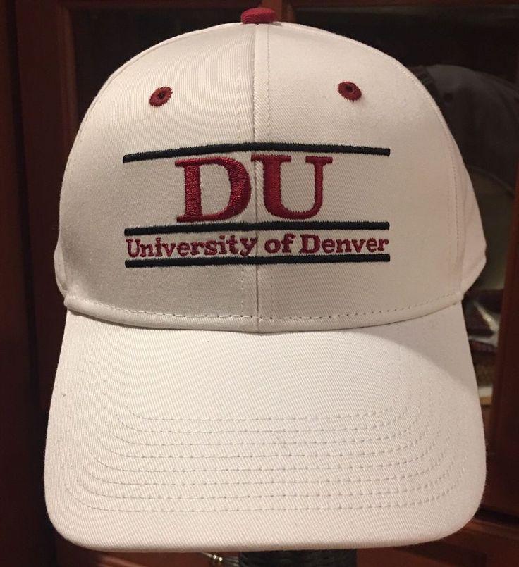 University Of Denver White Snapback Hat Baseball Cap The Game  | eBay