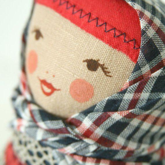 BUNIKAART Sweet Matryoshka Art Folk doll