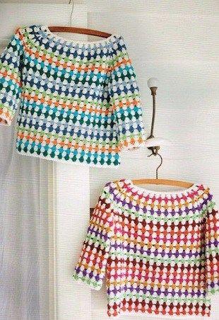 Häkeln Sie einen einfachen Pullover für unsere Kinder   – crochet