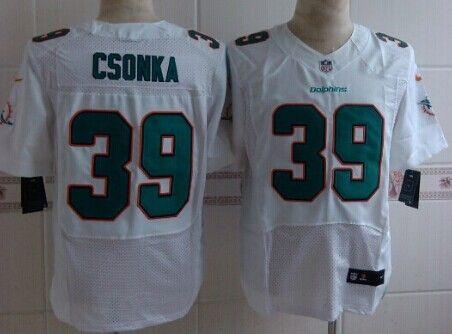 58030210 ... Nike Miami Dolphins 39 Larry Csonka 2013 White Elite Jersey Richie  Incognito Jersey Miami Dolphins 68 Mens ...