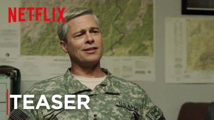 Brad Pitt Is Going to 'Liberate the Shit out of You' in the Netflix Military Satire Film 'War Machine'