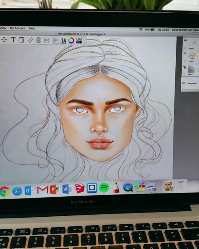 My first digital drawing ✏
