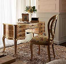 Classic Luxury Home Study Furniture by Andrea Fanfani Italy.