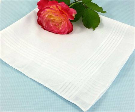 Wedding/Bridal Handkerchief - Ready for Your Own Words to be Embroidered .