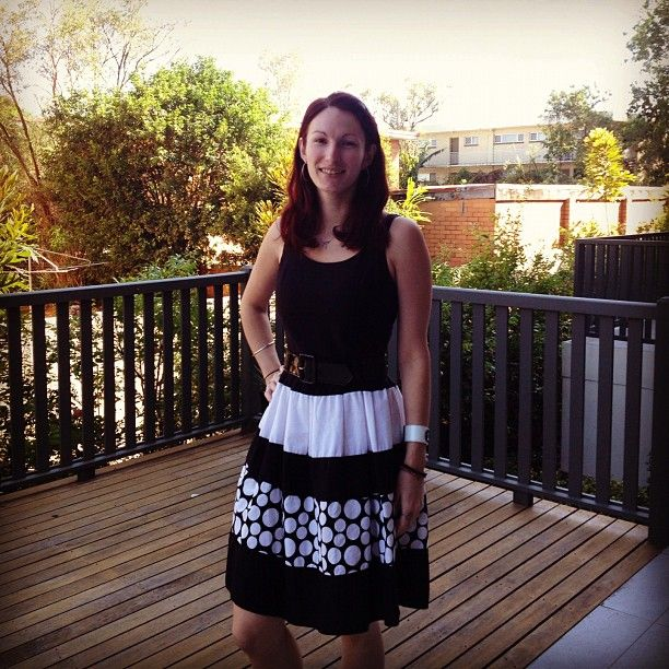 #frocktober day 23: exam today, eeep! Wish me luck with donations