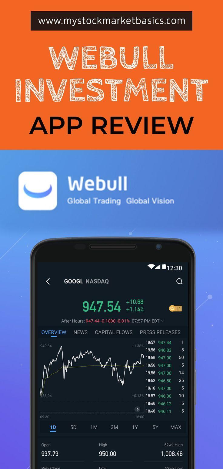 Investment app comparison webull vs robinhood vs m1