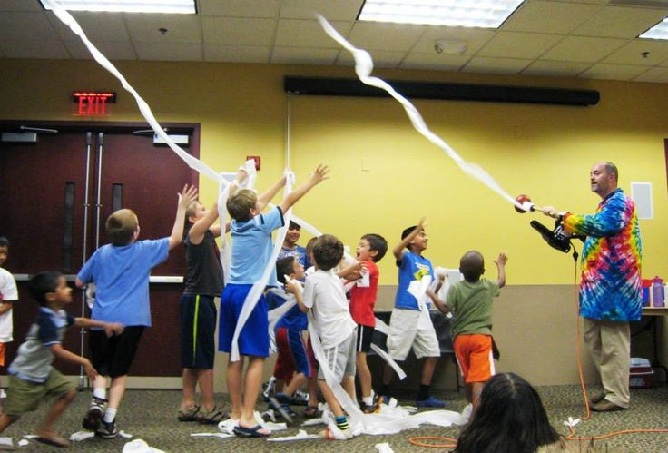 Sciencetellers @ The Hillsborough Library! Andrew Piccirillo of ...