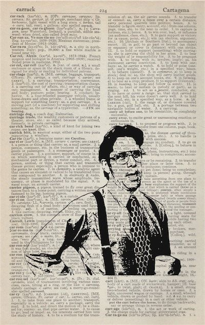 Office Space Bill Lumbergh Meme Vintage Dictionary Art by ZandD, $9.00