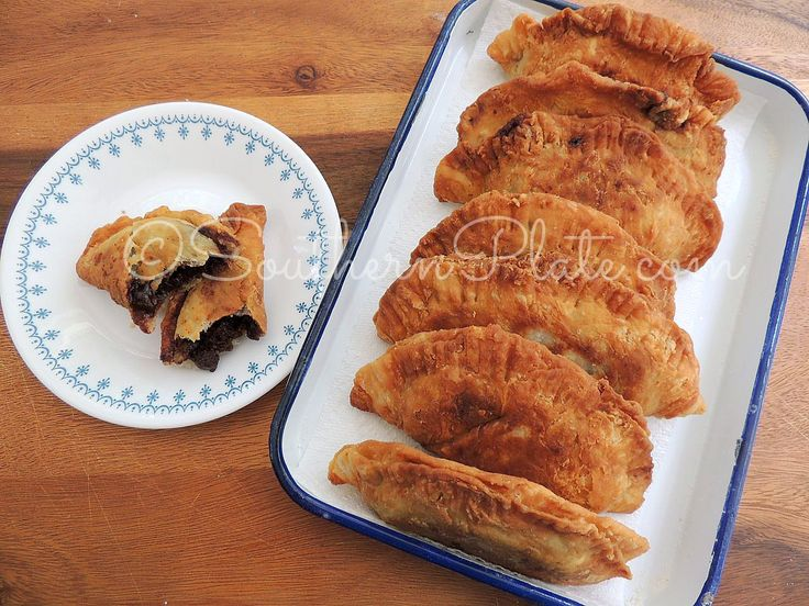 Chocolate Fried Pies from SouthernPlate