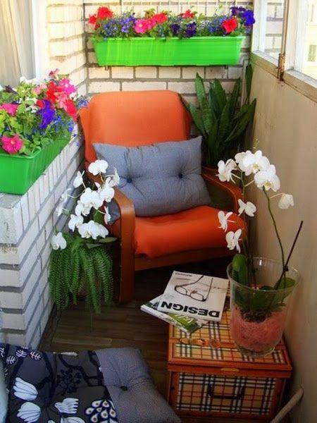 6 imágenes de terrazas con encanto | Decorar tu casa es facilisimo.com