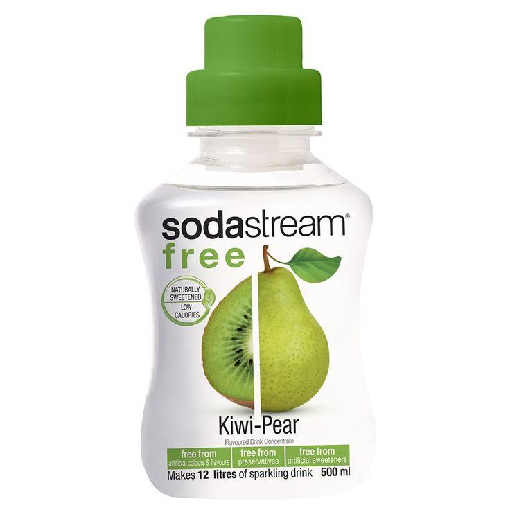 SodaStream Free 1320148110 Kiwi & Poire