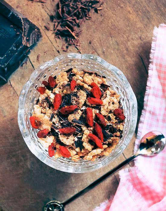 | Muesli #bio, #bacchediGoji e pepite di cacao crudo |  La tua prima colazione non sarà più la stessa: http://www.ecomarket.eu/superfood-bio.html#Default_Category