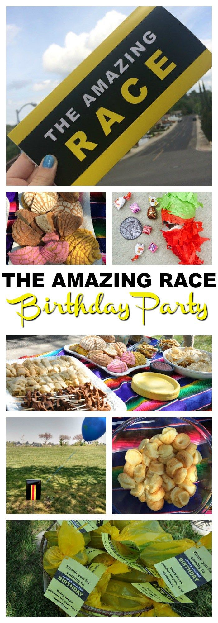 Amazing race ideas - The Amazing Race Birthday Party
