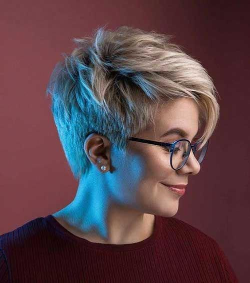 Popular and New Short Hairstyles with 20 Pics