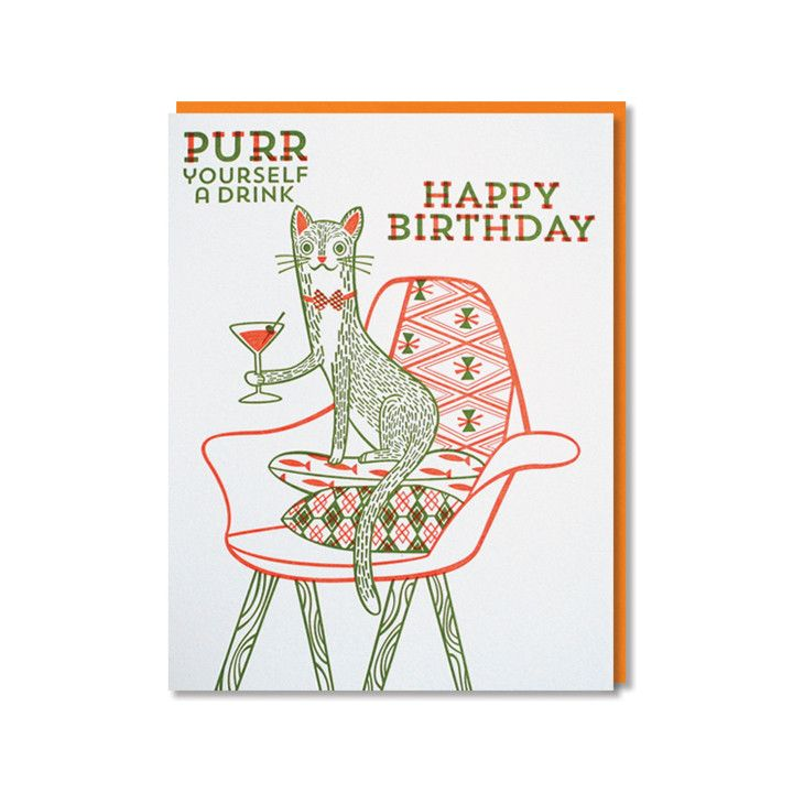Birthday Greeting For Cat Lovers Best Images About Cards