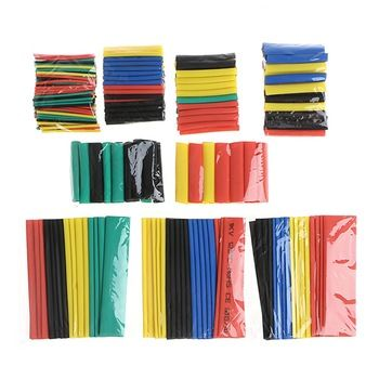 328 Pcs 2:1 Polyolefin Heat Shrink Tubing Tube Sleeve Wrap Wire Set 8 Size Insulation Materials Elements  Price: 2.53 USD