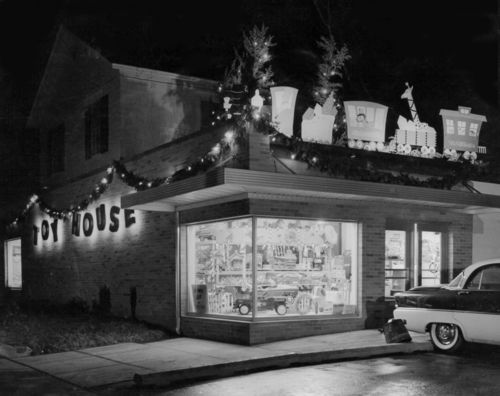 Toy House - Jackson Michigan, one of my favorite places to go when I was a kid and it's still there.   We bought our daughter ice skates here when she was little