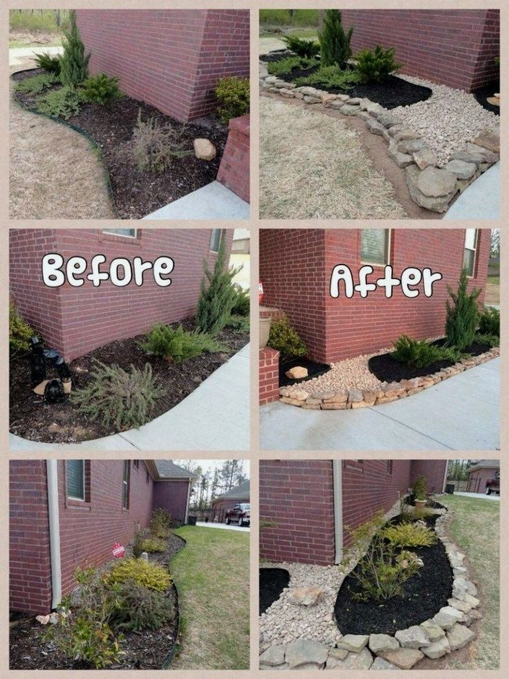 Backyard Transformations Before And After Aquascape Inc Backyard Water Feature Farmhouse Outdoor Decor Cheap Landscaping Ideas