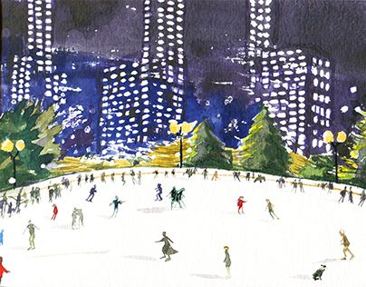 "Check out new work on my @Behance portfolio: ""New york. Central park"" http://be.net/gallery/37223539/New-york-Central-park"