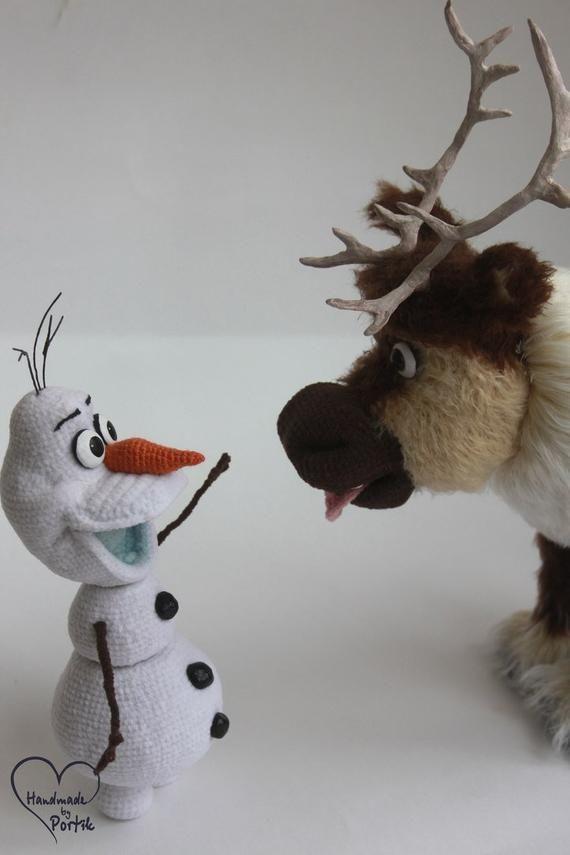 OLAF [CROCHET FREE PATTERNS] – Easy Crochet | Crochet dolls free ... | 855x570