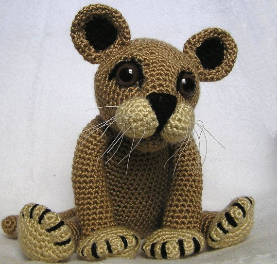 83 Best Crochet Lions And Tigers Images On Pinterest Crochet