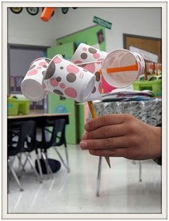 This post has a great weather unit with experiments, writing and art activities...