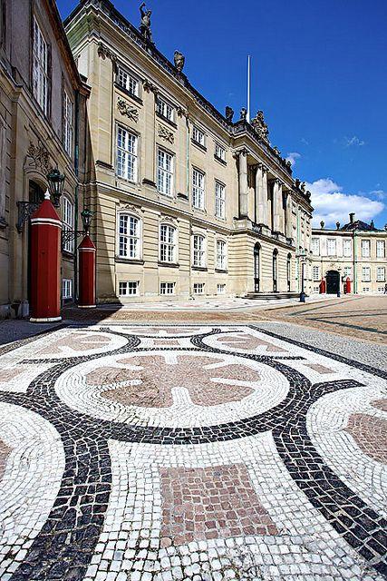 Denmark: Amalienborg Palace, Copenhagen