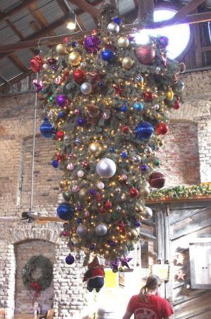 Christmas Tree Hung Upside Down