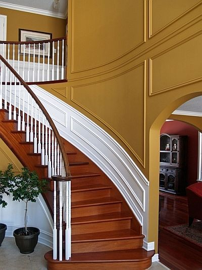 Foyer Trim Ideas : Best images about wainscoting your walls on pinterest