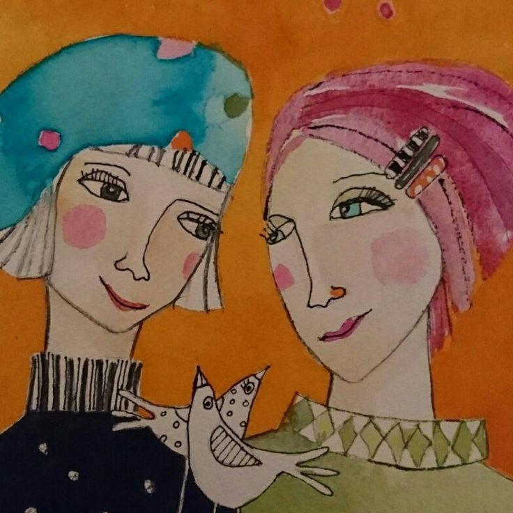 Systrar av Monica Blom