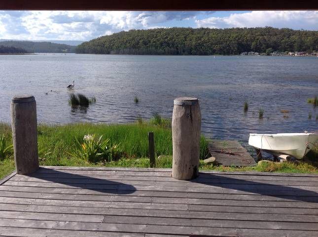 """LAKESIDE"", a Burrill Lake 3BR House | Stayz"