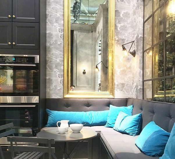 Banquette Seating At IDS 2015 Ikeau0027s New Sektion Cabinetry   Via Vanessa  Francis Design
