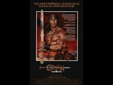 Conan The Destroyer(Main Theme) Basil Poledouris
