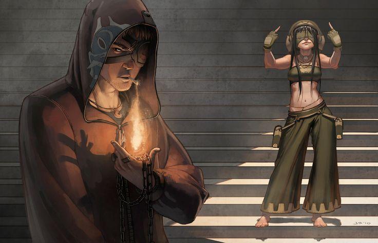 Zuko and Toph - Avatar - by dustsplat on deviantART