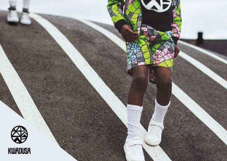 Kwadusa urban kids clothes. Photo by Luna Lopez