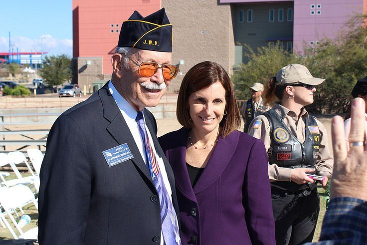 Did you know? Congresswoman Martha McSally made history as the first female fighter pilot to fly in combat & first woman to command a fighter squadron in combat.   Congresswoman McSally is also the first Republican female war veteran elected to the U.S. House of Representatives, serving Arizona's 2nd District!