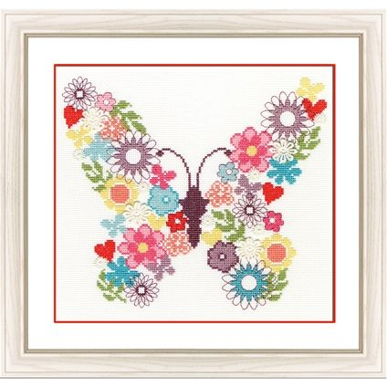 Butterfly Bouquet #foxcollection #crossstitch #craft