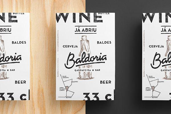 Another Collective / Baldoria – Garrafeira x Bar #design #identity #branding