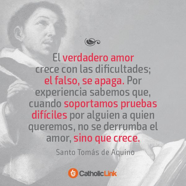 Biblioteca de Catholic-Link - El verdadero amor según Santo Tomás de Aquino