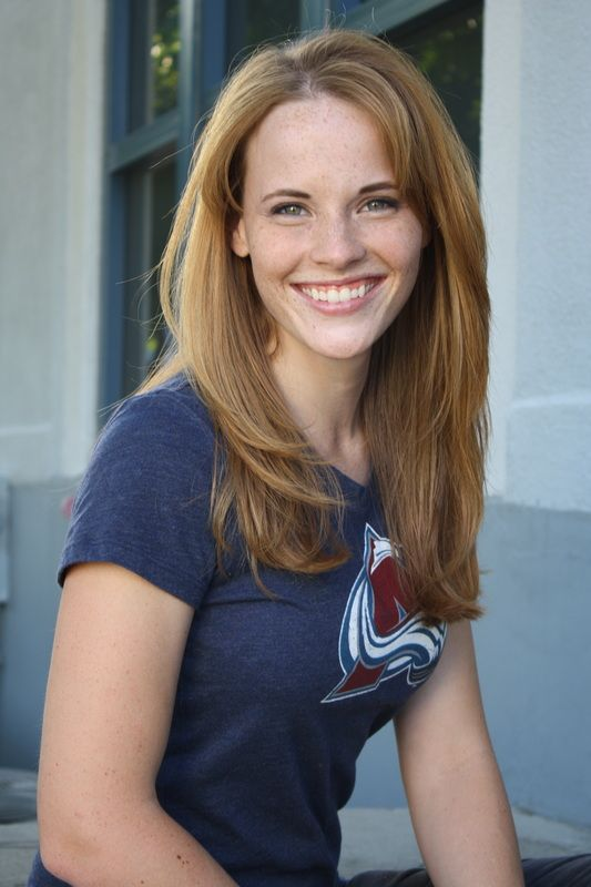Katie Leclerc + Avalanche = super cool. Also: most beautiful hair ever!