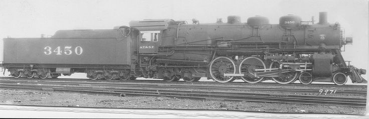 17 Best Images About Railroads Atsf Steam On Pinterest