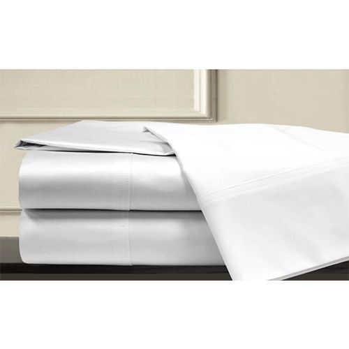 White Four-Piece 1000 Thread Count California King Sheet Set - (In No Image Available)