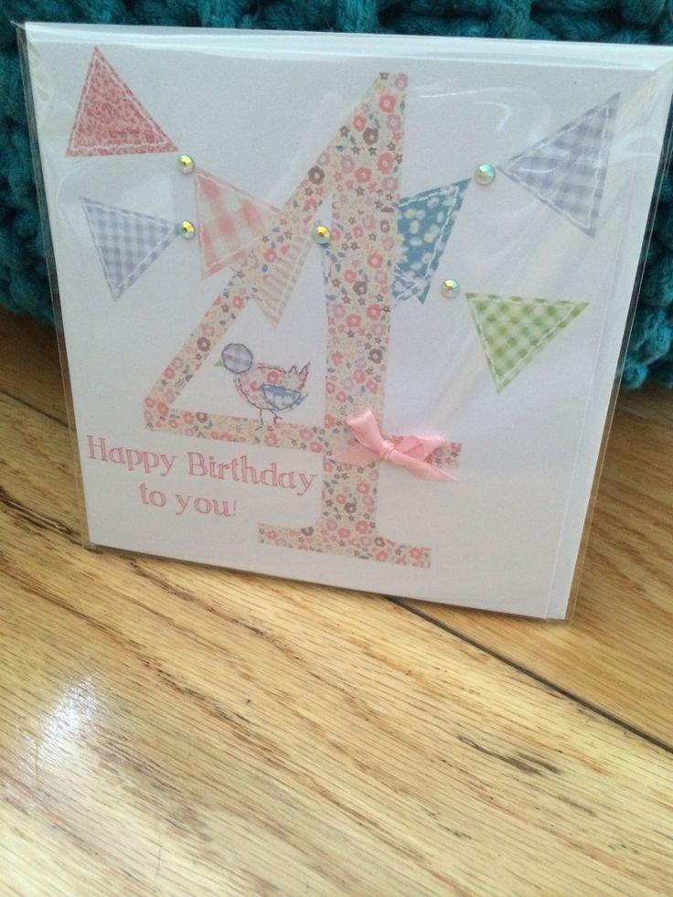 Kids birthday card @  etsy shop thingsilove.me