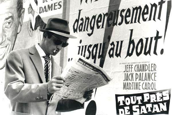 """Jean-Paul Belmondo dans """" A bout de Souffle """", 1960"""