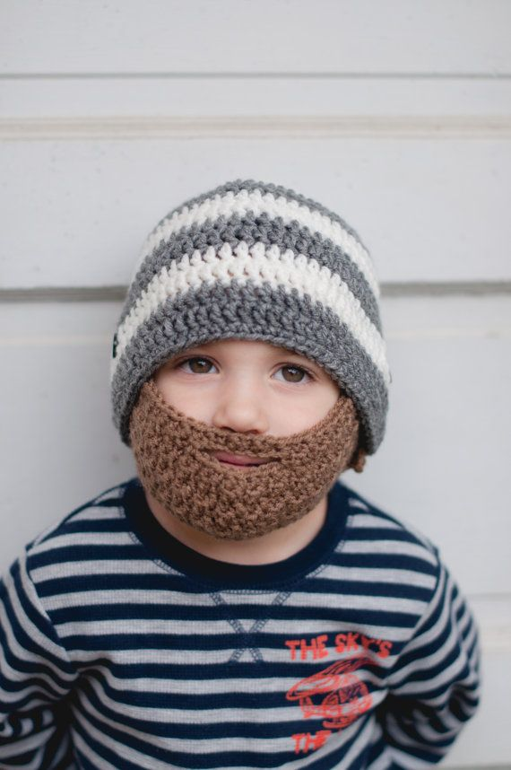 a27e5504756 25+ best ideas about Baby beard hat on Pinterest Crochet .