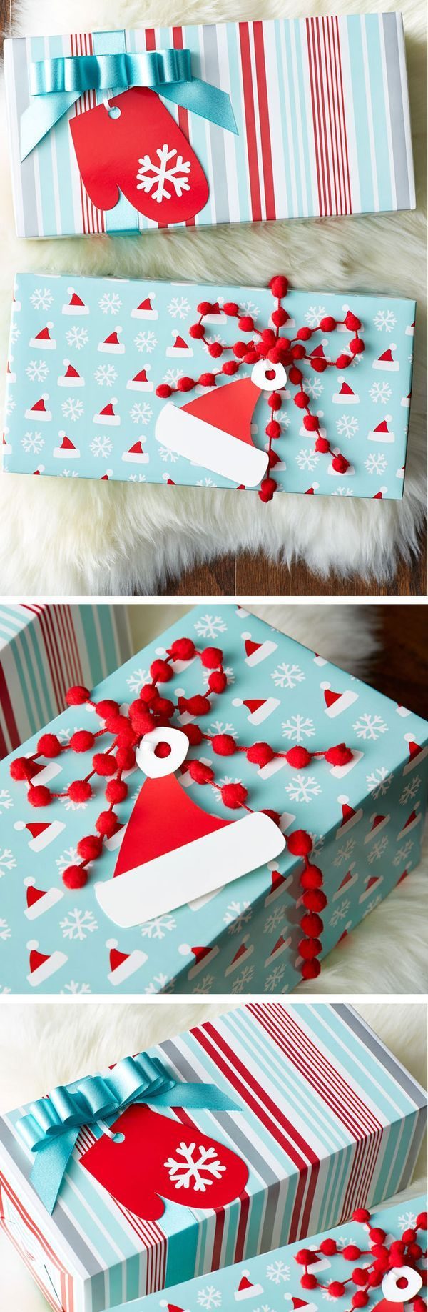 Take the tags to the next level with clever and cute additions from our Gift Wrap Wonderland!